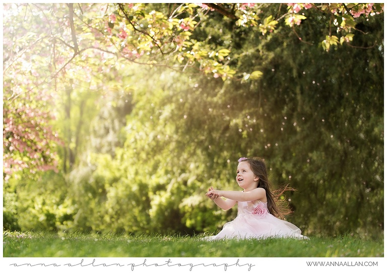 Spring Blossom child photography