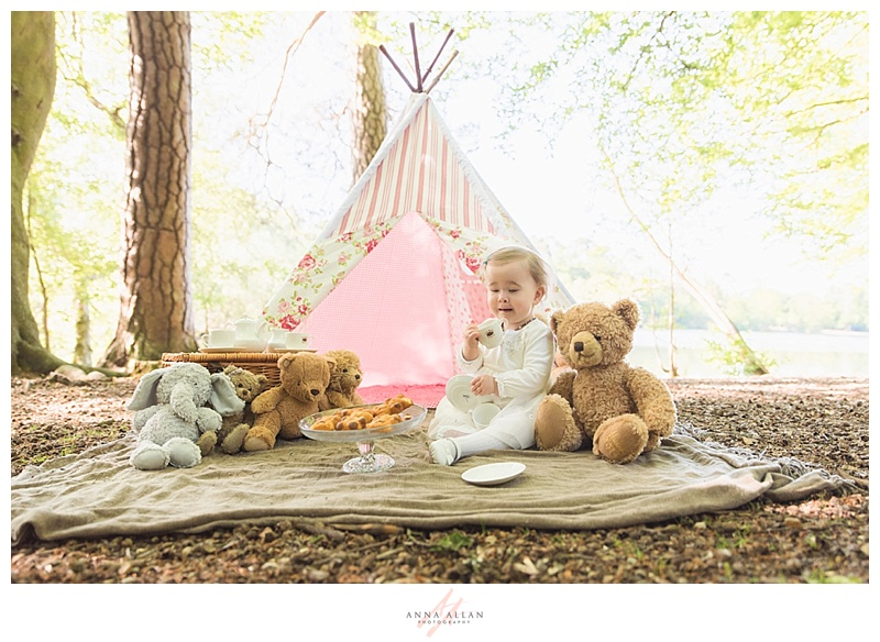 The Teddy Bear S Picnic A First Birthday Photo Shoot